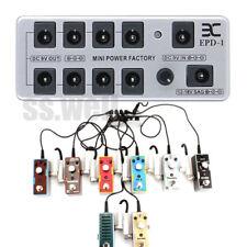 Portable EX EPD-1 Guitar Effect Pedal Power Supply 8CH Output 9v 12v 18v w/cable