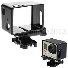 AUDEW LCD Screen Border Frame Mount Protector Housing Case For GoPro Hero 3 3+ 4