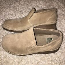 Vintage American Eagle Women's Brown Leather Chunky Rubber Sole Shoes Size 8
