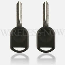 2 Car Transponder Ignition Chip Key For 2005 2006 2007 Ford Freestyle