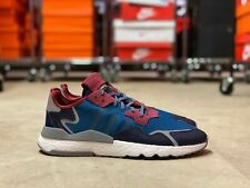 Adidas Nite Jogger Mens Running Lifestyle Shoes Green/Maroon (EE5872) NEW Multi