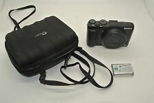 Sony Cyber-shot DSC-HX50V 20.4MP Digital Camera - Black READ PLEASE