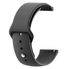 Silikon Armband 20 / 22mm Stegbreite Uhrarmband für Samsung Huawei Amazfit