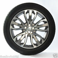"""GENUINE RANGE ROVER SPORT L494 STYLE 15/507 21"""" ALLOY WHEELS+TYRES X4,DISCOVERY"""