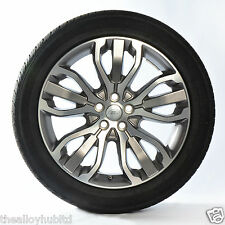 """GENUINE RANGE ROVER SPORT L494 STYLE 5007 21"""" ALLOY WHEELS+TYRES X4,DISCOVERY"""
