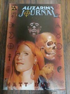 Alizarin's Journal #1 1999 Matt Busch Avatar Press Comic Indie Vintage HTF