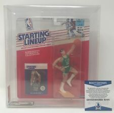 KEVIN MCHALE Signed 1988 Starting Lineup FIGURE Boston CELTIC AFA 70 BECKETT COA