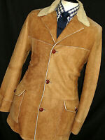 MENS PRADA MILANO SHEEPSKIN SHEARLING LEATHER JACKET OVERCOAT COAT 40/ 42R