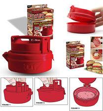 Imperdibile stampo stampino forma pressa per hamburger ripieni stufz burger new
