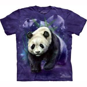 Mountain Child T-shirt Panda Collage