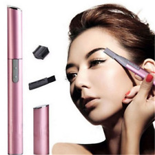 Pink LADY ELECTRIC SHAVER BIKINI LEGS EYEBROW TRIMMER SHAPER HAIR REMOVER tool