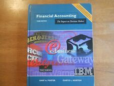 Financial Accounting : The Impact on Decision Makers by Gary A. Porter and...