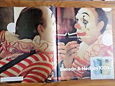 1972 Benson & Hedges Cigarette Ad   Circus Clowns