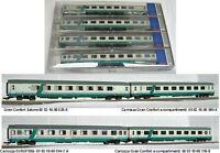 Roco 64083 - Set 4 carrozze di cui tre Gran Confort + una Eurofima XMPR FS