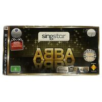 Brand New Singstar ABBA for Playstation 3 (PS3) - Complete w/ 2 Mics + Game