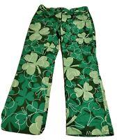 Loudmouth Golf Mens Shamrock Pants 32 X29