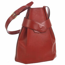 LOUIS VUITTON SAC DEPAULE GM SHOULDER BAG RED EPI LEATHER M80197 K08531b