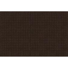 Brown 48 in. x 72 in. Synthetic Surface and Recycled Rubber Commercial Door