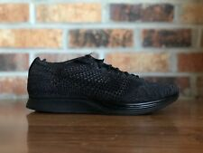 Nike Flyknit Racer Blackout Triple Black Midnight Men's Size 7 526628-009