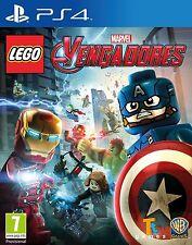 LEGO MARVEL VENGADORES EN CASTELLANO NUEVO PRECINTADO PS4