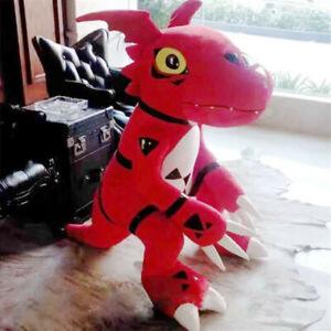 60cm Digimon Digital Monster Guilmon X-evolution Cosplay Plush Toy Stuffed Doll