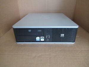 HP DC7800 Small Form Factor 80GB HDD 2GB RAM Pentium Dual Core E2180 @ 2.00GHZ