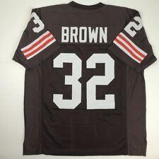 7b6da574d New JIM BROWN Cleveland Brown Custom Stitched Football Jersey Size Men s XL