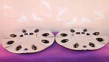 Karizzma Chrome Custom Wheel Center Cap Set of Two (2) pn: KR02- CAP LG0511-39