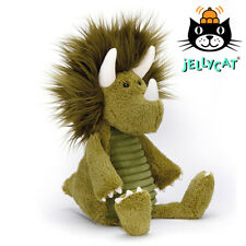 NEW Jellycat Snagglebaggle Dennis Dino 36cm Soft Plush Toy Kids Triceratops
