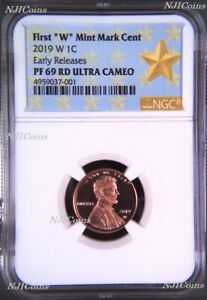 2019 W Proof Lincoln Penny Cent West Point NGC RD PF UC 69 ER (Star Label)