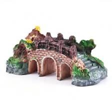 Fish Tank Ornament Bridge LandscapeLandscape Aquarium Tree Home Decor