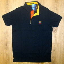 Neu Herren Poloshirt Piqué Paul & Shark SLIM FIT Gr.XL