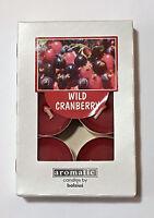 Duftteelicht / Teelichter Cranberry 6 er Packung Kerze von Bolsius