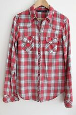 Checked Tops & Shirts Size Tall Topshop for Women