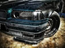 BMW 3 E36 Dark Design  Headlight caps / covers with air intake DRIFT/RACE