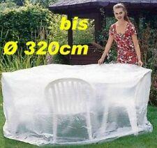 LANDMANN Schutzhülle Wetterschutz für Gartensitzgruppe Ø320cm 143108 NEU