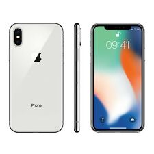 New Apple iPhone X 64GB Silver Unlocked, 1 Year Apple Warranty Next Day Delivery