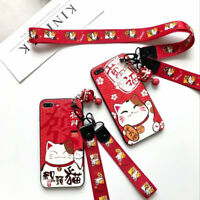 Cute Cat Cartoon Silicone TPU Phone Case Cover For iPhone X XS XR Max 8 7 6 Plus