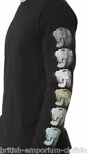 MARC JACOBS Black Slim Fit TIGER PRINT L/S T SHIRT Made In ITALY BNWT Small