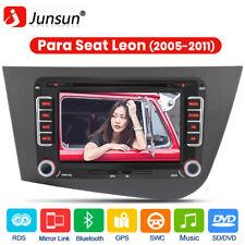 "7"" 2DIN Car Radio GPS DAB+ Autoradio Para Seat Leon 2005-2011 CD DVD Bluetooth"