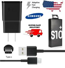 ORIGINAL OEM FAST RAPID QUICK WALL CHARGER FOR SAMSUNG GALAXY A20 A50 A70 S10 S9