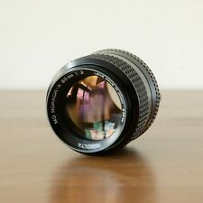 【Near Mint】  Minolta MD MC Rokkor 85mm f/2 lens in excellent condition! CLEAN