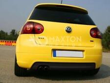 BODY KIT DIFFUSORE ESTRATTORE PARAURTI POSTERIORE VW GOLF V MK5 GTI LOOK