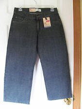 NWT Boy's Levi's 550 Humboldt Relaxed Fit Jeans 8 Husky W28 L23 100% Cotton