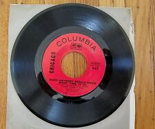 CHICAGO  Does Anybody Really Know What Time It Is? / Listen  EXCELLENT Vinyl 45