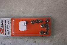 GForce RC G-Force GF-0401-043 métal M4 ECROU HEXAGONAUX NYLSTOP EPAULE Aluminium
