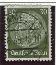 GERMANY;    1934 early Hindenburg issue fine used 30pf. value