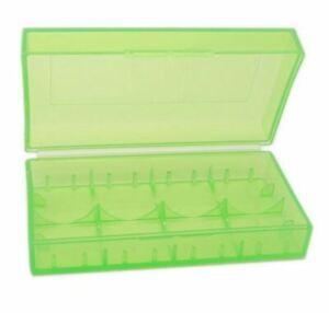 4x Batterieschachtel, Battery Storage Box Suitcase Geocaching Battery Box