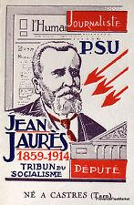 JEAN JAURES   1959 TIMBRE FRANCE  Premier Jour  FDC  Yt 1217