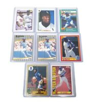 1987 TOPPS FUTURE STARS #170 BO JACKSON RC Lot of 8 Bo Cards